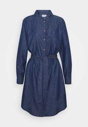 JDYESRAN DRESS  - Denim dress - dark blue denim