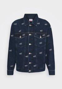 Tommy Jeans - OVERSIZE TRUCKER JACKET UNISEX - Giacca di jeans - dark blue - 6