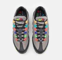 Nike Sportswear - AIR MAX 95 SE UNISEX - Sneakers basse - light charcoal/university red/black - 3