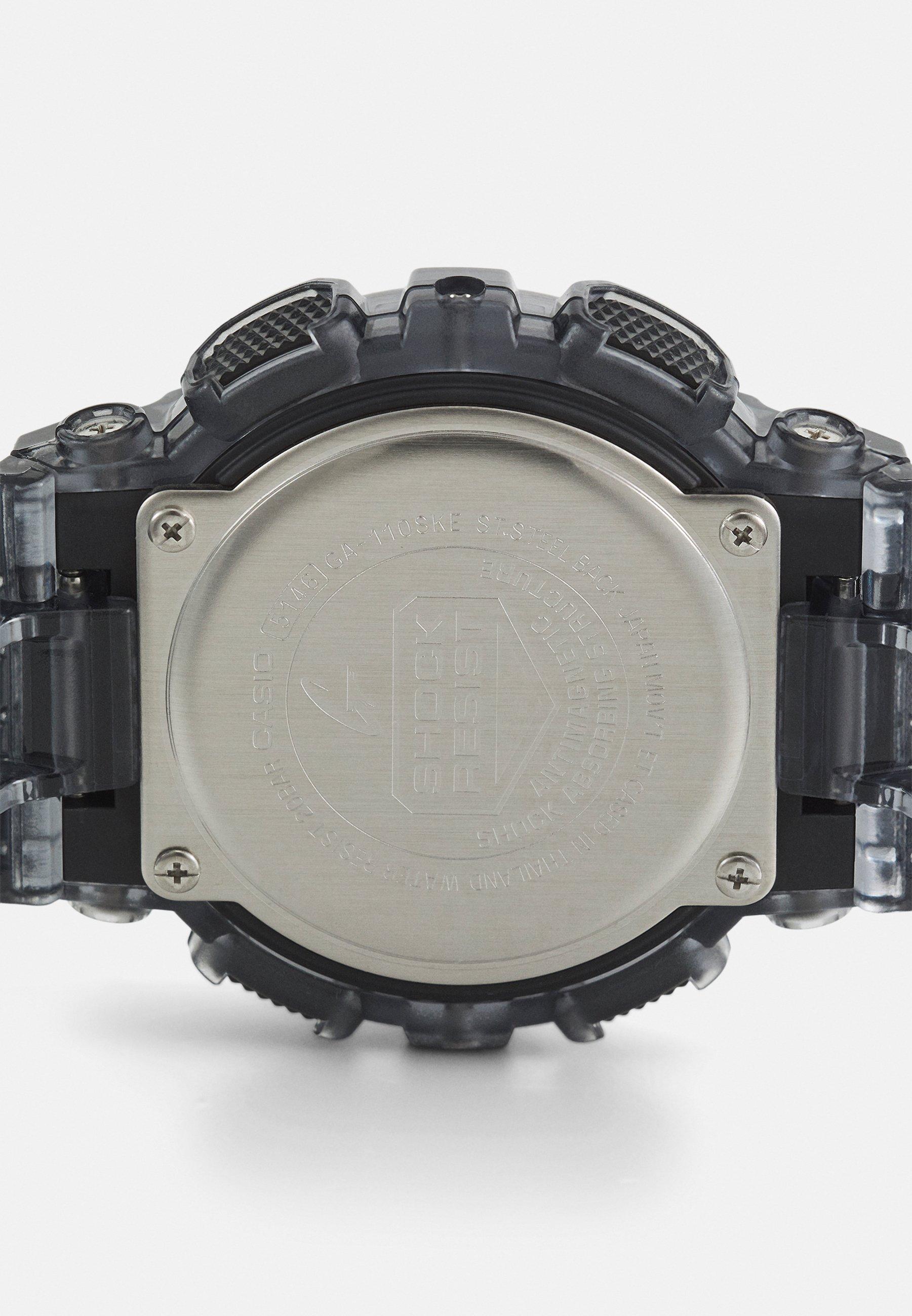 Homme BLACK SKELETON GA-110SKE UNISEX - Montre à affichage digital