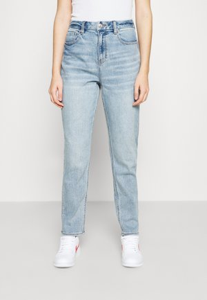 CURVY MOM - Relaxed fit jeans - light-blue denim