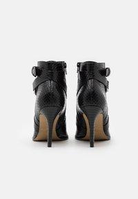 San Marina - VOTELLA - High heeled ankle boots - noir - 3