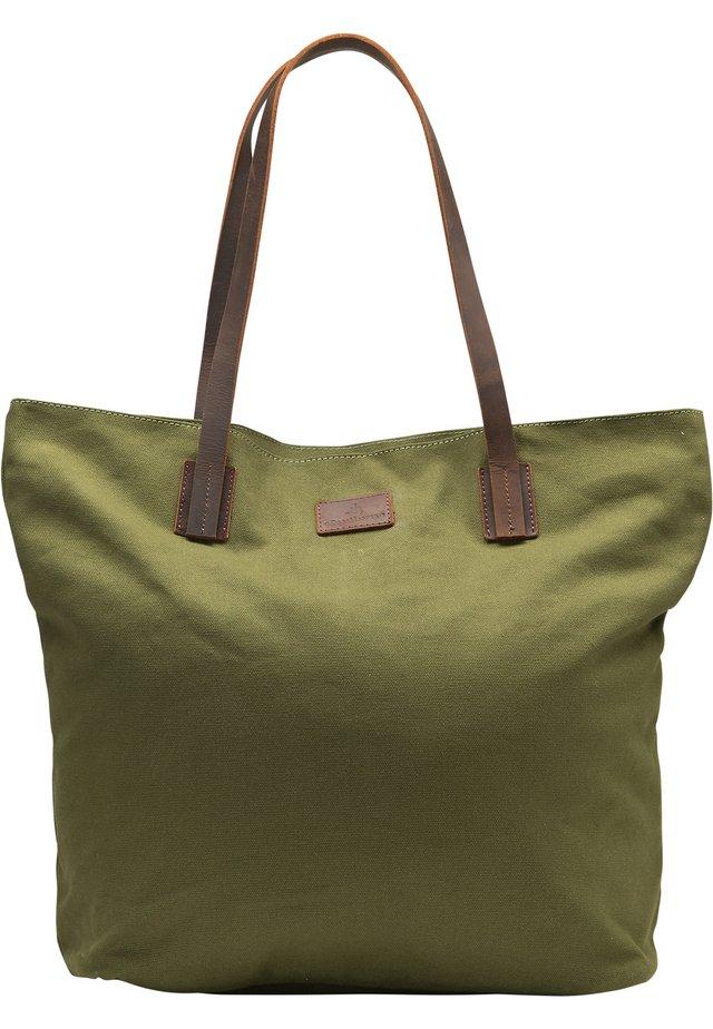 DREIMASTER SHOPPER - Shopping bag - oliv braun