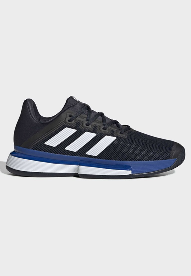 adidas Performance SOLEMATCH BOUNCE CLAY COURT SHOES - Tennisschuh für Sandplätze - blue/blau - Herrenschuhe qZbhb