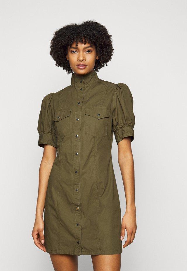 DRESS - Korte jurk - military kaki