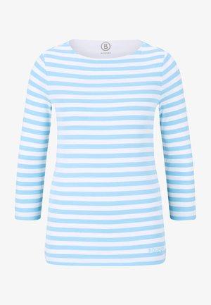 LOUNA - T-shirt à manches longues - hellblau weiß