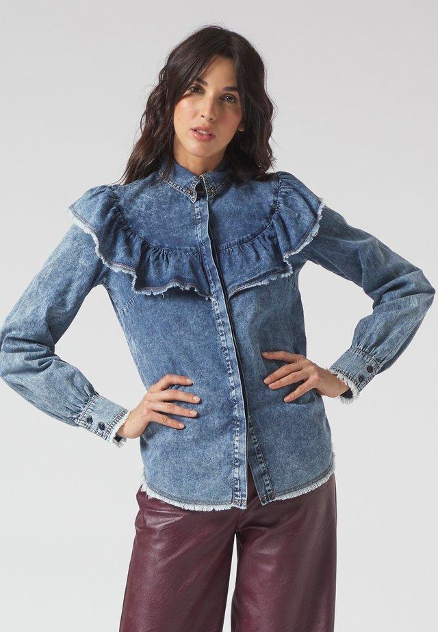 Camicia - medium blue