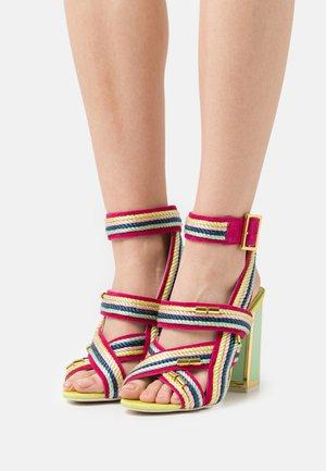 ARABELLA - High heeled sandals - multibrights