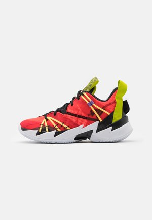 WHY NOT SE - Basketball shoes - bright crimson/black/university red/white/bright cactus/citron pulse