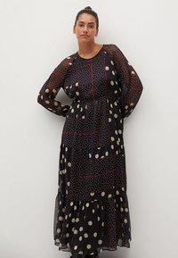 Violeta by Mango - Maxi šaty - schwarz - 2