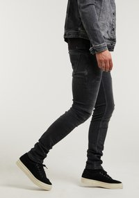 CHASIN' - EGO COLOMBO - Slim fit jeans - black - 1