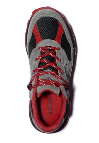 Timberland - TRAIL TREKKER LOW GTX - Sports shoes - grey red - 1