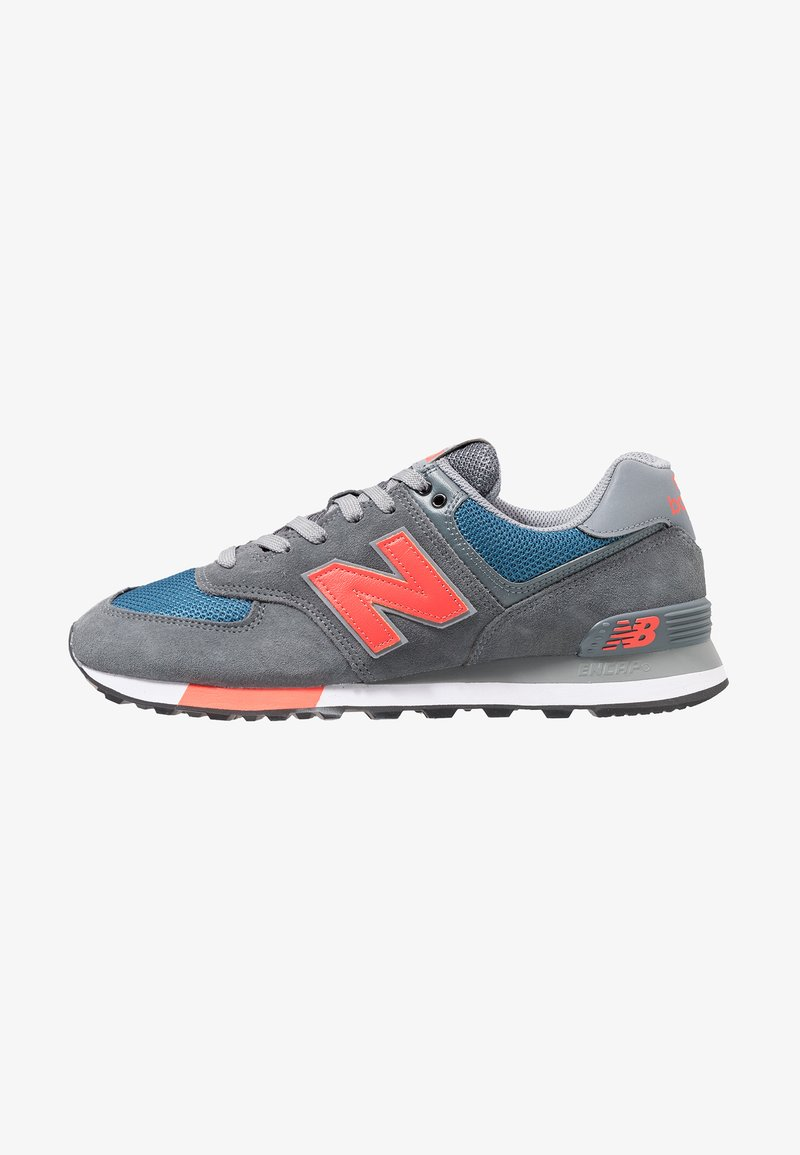 New Balance - ML574 - Matalavartiset tennarit - grey/blue