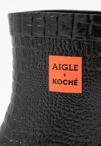 Aigle - KOCHE BOOT - Gummistøvler - noir - 2