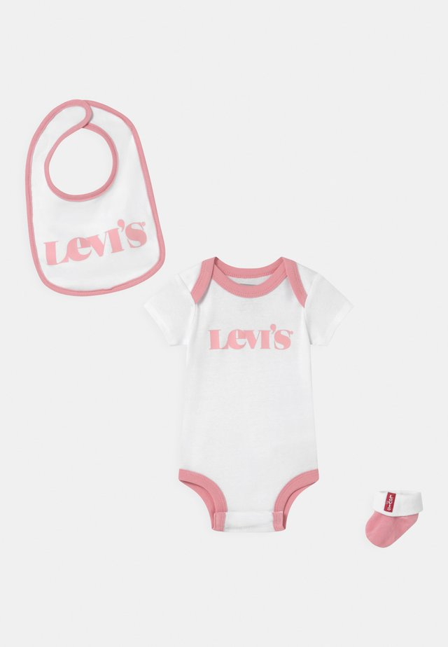 NEW LOGO INFANT SET  - T-shirt con stampa - peony