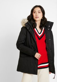 Tommy Hilfiger - NEW ALANA - Winter coat - black - 0