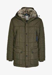 Calamar - Winter coat - oliv - 0