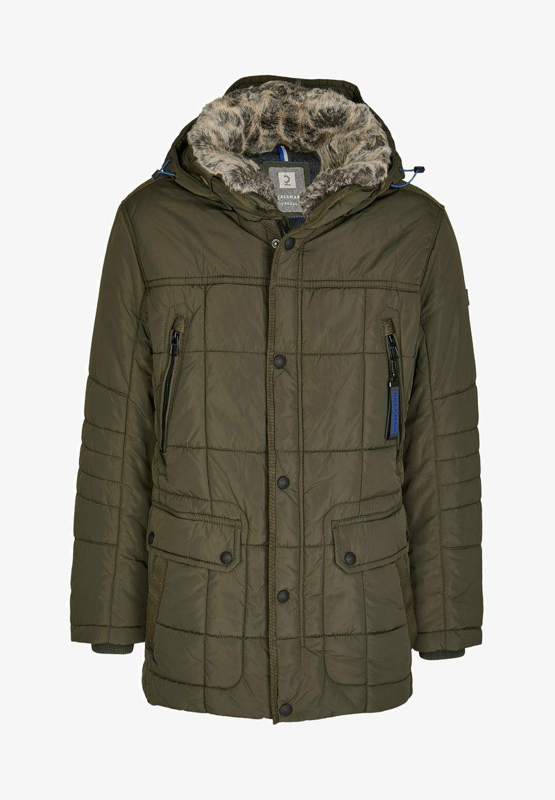 Calamar - Winter coat - oliv