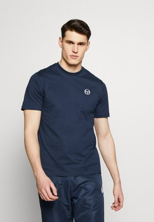 SERGIO  - T-shirts basic - navy/white