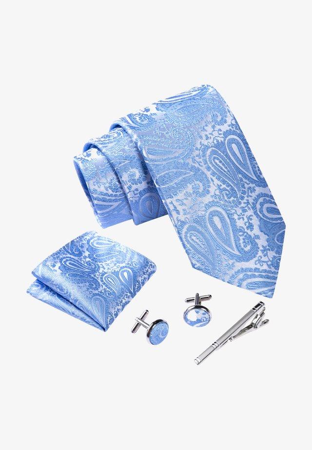 4 PIECE SET - Stropdas - blau