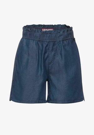 LOOSE FIT DENIM SHORTS - Shorts - blau