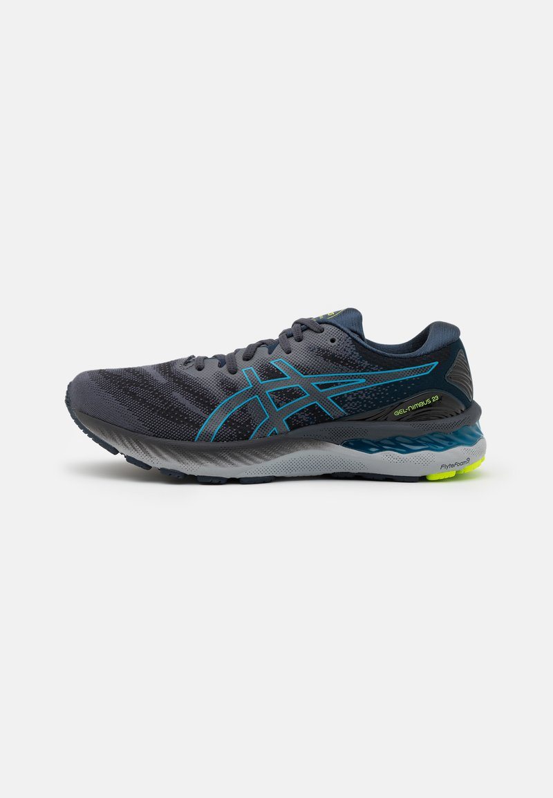 ASICS - GEL NIMBUS 23 - Neutral running shoes - carrier grey/digital aqua