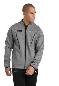 Puma - Zip-up hoodie - grey - 0