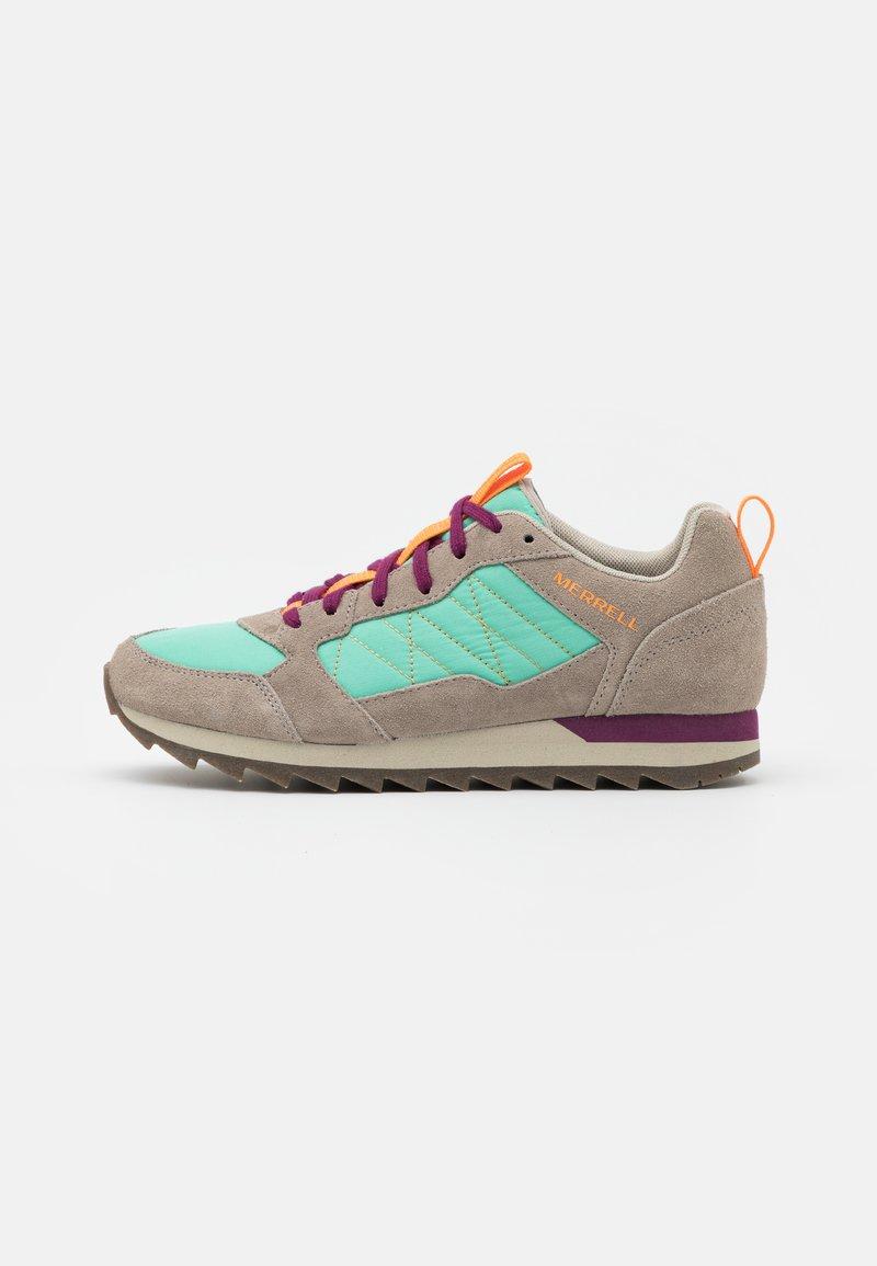 Merrell - ALPINE - Hiking shoes - moon/mint