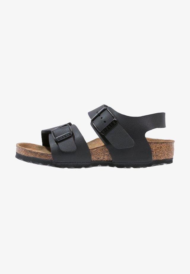 NEW YORK - Sandaalit nilkkaremmillä - black