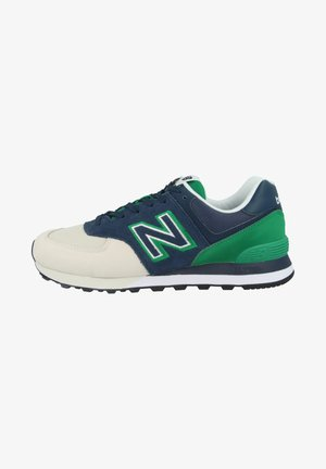 SCHUHE ML 574 - Sneakersy niskie - natural indigo/hula green
