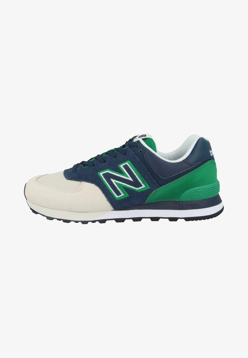 New Balance - SCHUHE ML 574 - Trainers - natural indigo/hula green