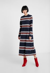 Libertine-Libertine - ZINK - Jersey dress - blue - 0