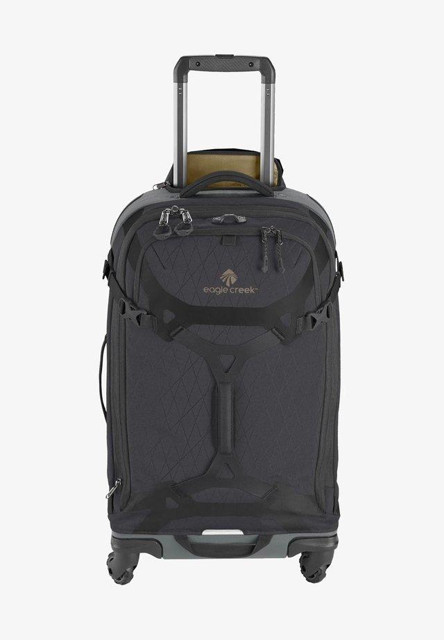 Wheeled suitcase - jet black