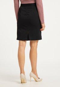 usha - Pencil skirt - schwarz - 2