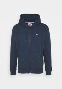 REGULAR ZIP HOOD - Zip-up sweatshirt - twilight navy