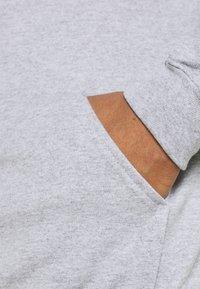 Mennace - JAPAN OVERHEAD HOODIE - Zip-up hoodie - grey - 4
