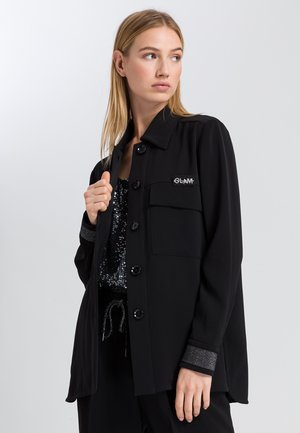 Summer jacket - black varied
