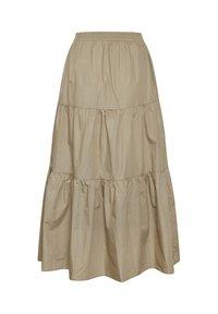 Kaffe - KAMOLLY - Maxi skirt - classic sand - 5