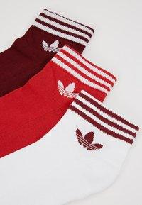 adidas Originals - 3 PACK - Skarpety - bordeaux/red/white - 2