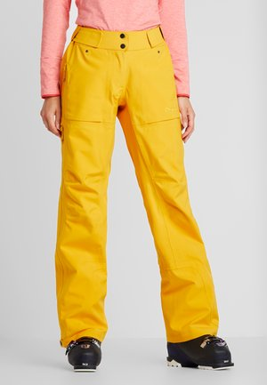 RELEASE - Snow pants - pumpkin yellow