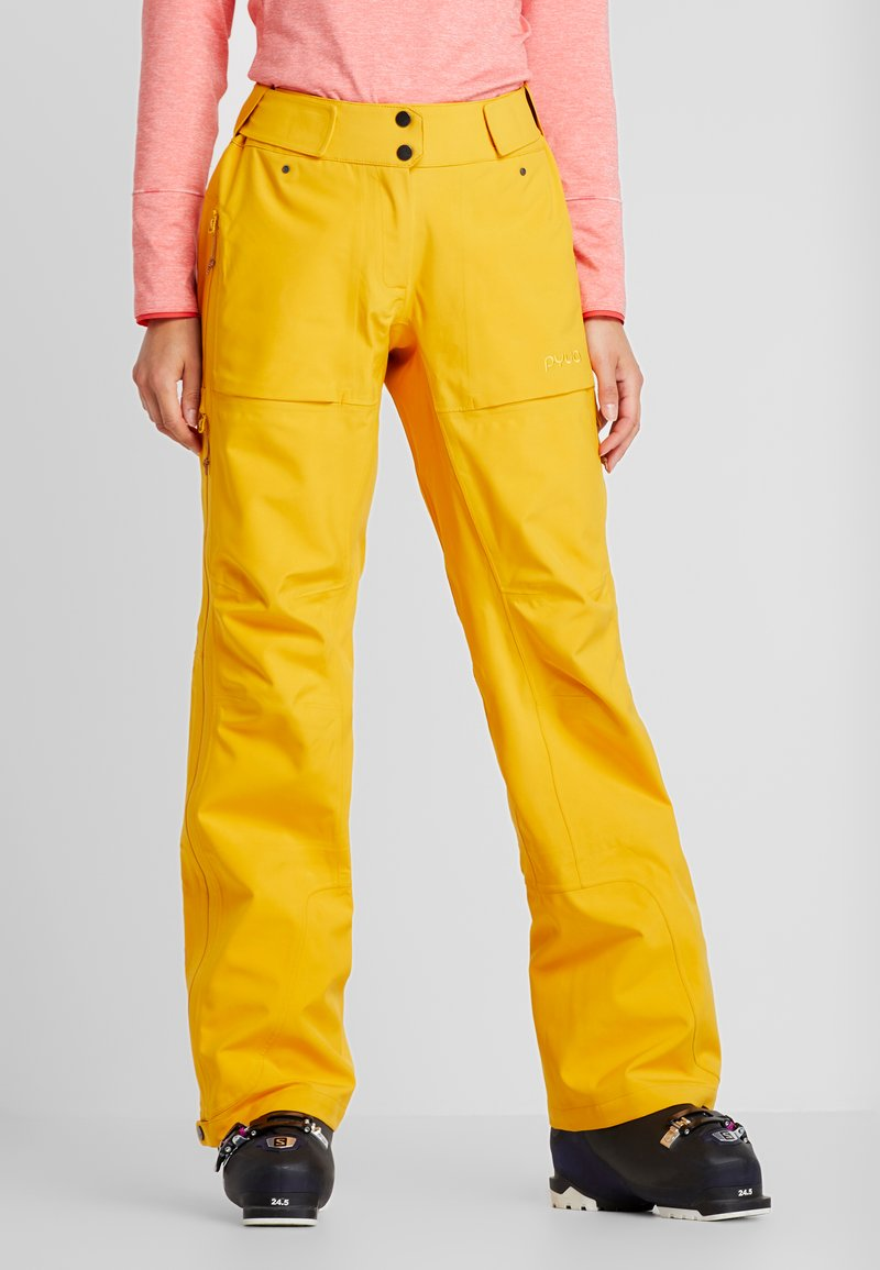 PYUA - RELEASE - Snow pants - pumpkin yellow