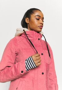 Brunotti - TESSA WOMEN SNOWJACKET - Snowboard jacket - pink grape - 4
