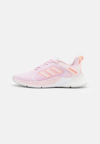 RESPONSE SUPER 2.0 - Nøytrale løpesko - clear pink/footwear white/screaming orange