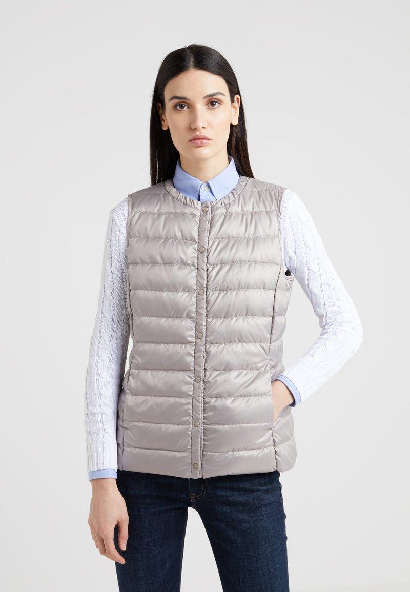 Lauren Ralph Lauren - PEARL SHEEN HOZIONTAL QUILT VEST - Waistcoat - cork