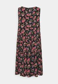 Vila - VICARE LAYER DRESS - Sukienka letnia - black - 5