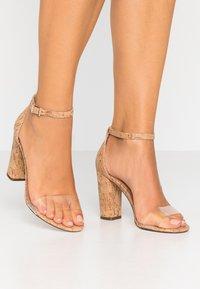 Call it Spring - TAYVIA  - High heeled sandals - natural - 0