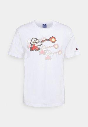 CREWNECK NINTENDO - Print T-shirt - white
