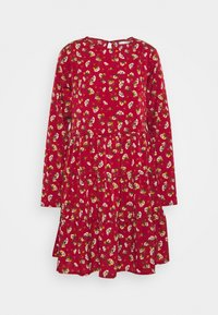 Missguided Tall - LONG SLEEVE SMOCK DRESS - Day dress - brick - 0