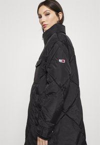Tommy Jeans - DIAMOND QUILTED COAT - Winterjas - black - 3