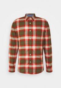 KENT COLLAR LONG SLEEVE CHEST - Shirt - multi/brick
